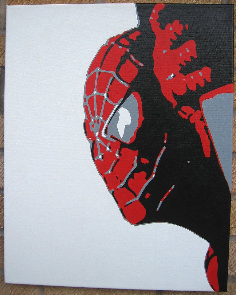 Spiderman pop art - photo#15